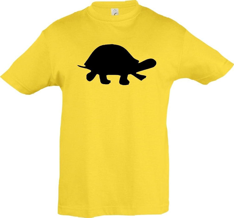 Kinder-Shirt; Tiermotiv Süße Schildkröte, Turtle; Viele Farben ...