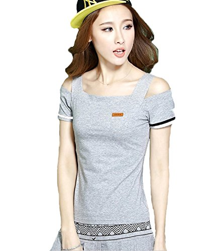 「ReiRei」 レディーススポーツウェア上下 スーツ 運動着 Tシャツ 半袖 ミニスカート テニスウェア