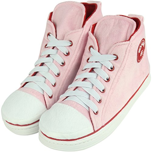 Pink Erwachsene Skateboardschuhe für Gohom Herren Schnürer Top von 5 klassische Sneaker Freizeitschuhe High tqpwT7x