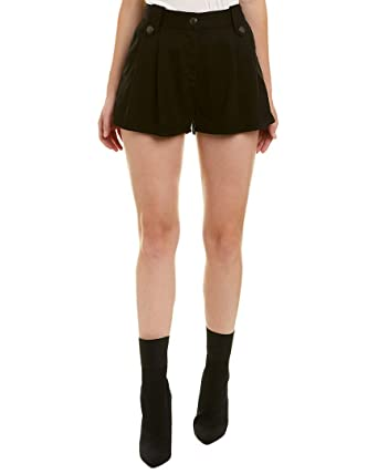 b9f95fe005 Image Unavailable. Image not available for. Color: The Kooples Womens Denim  Short, 2, Black