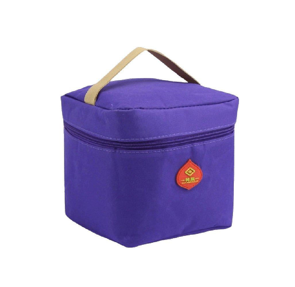 Zhrui Wasserdichte Tragbare Thermische Taschen-purpurrote Nahrungsmittelbeutel