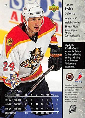 Amazon.com  1997-98 Upper Deck Hockey Card  73 Robert Svehla Florida  Panthers Official NHL Trading Card  Collectibles   Fine Art 1ba6d6d84