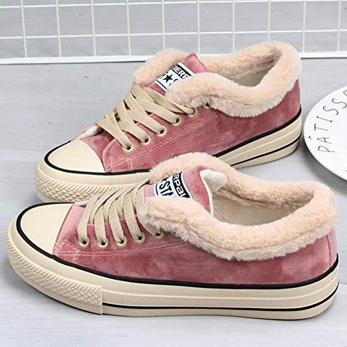 Casuel Sneakers Montante Femme Rose Sara Lacet Chaussures Compensées Mode Baskets Toile Love Tennis wIqqXF8x