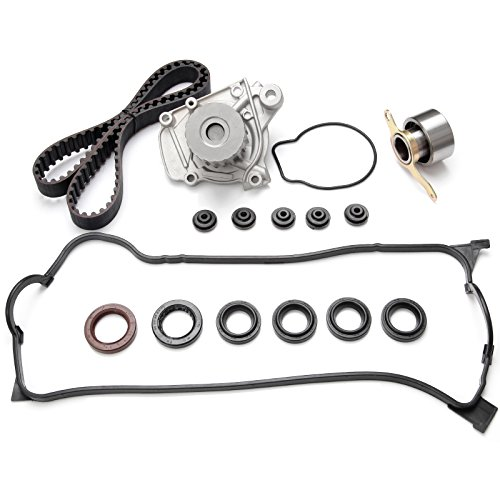 Civic Sohc Engine - ECCPP Fits 1996-2000 1.6L HONDA CIVIC SOHC TIMING BELT WATER PUMP KIT VALVE COVER D16Y5