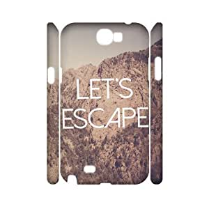 Let's Escape Cheap Custom 3D Cell Phone Ipod Touch 5 , Let's Escape Ipod Touch 5 3D Case