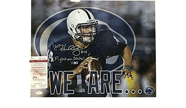 Christian Hackenberg Autographed Signed Inscribed Penn State 16x20 Photo -  JSA Authentic at Amazon s Sports Collectibles Store 91eb9520b