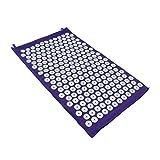 HealthAndYoga(TM) Spike Acupressure Mat – Purple For Sale