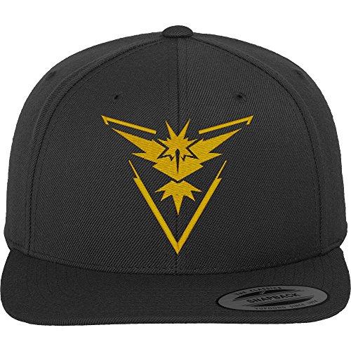 Go Team Gelb Cap - Cap, schwarz, Gr. Einheitsgröße