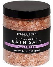 Evolution Salt - Bath Himalayan Salt Coarse Lavender 26 oz