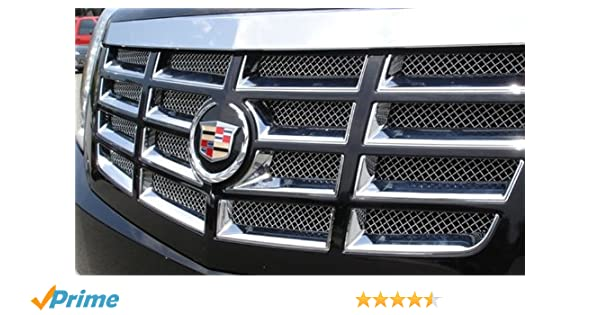 Amazon.com: TRex Grilles 54195 Upper Class Small Mesh Stainless Polished Finish Grille Insert for Cadillac Escalade: Automotive