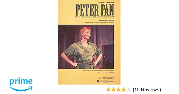 """/""""PETER PAN/"""" PIANO//VOCAL//GUITAR MUSIC BOOK-BRAND NEW ON SALE-BROADWAY MUSICAL!!"""
