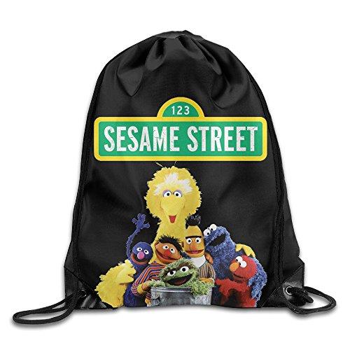 Abby Cadabby Notebooks (Sesame Street Nylon Basic Drawstring Tote Home Travel Sport Storage)