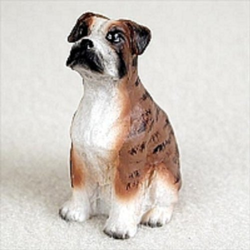 - Conversation Concepts Boxer Brindle W/Uncropped Ears Tiny One Figurine