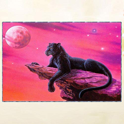 - Diy Diamond Painting Kits - Animal Leopard?5D Full Drill Rhinestone Animals Painting Art Craft For Home Decoration(Frameless)