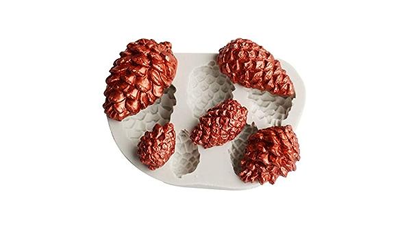 YUXIAN Molde De Silicona para Fondant, Molde De Chocolate ...