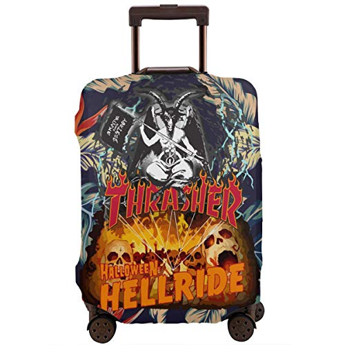Wodehous Adonis Wodehous Adonis Diamond Thrasher Halloween Hellride Travel Luggage Suitcase Protector Fits Washable Baggage Covers -