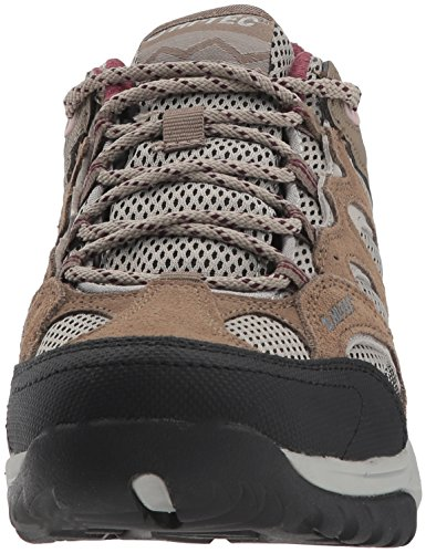 free shipping under $60 buy sale online Hi-Tec Women's V-Lite Wild-Fire Low I Waterproof Hiking Shoe Taupe/Warm Grey/Grape Wine clearance fake cheap sale clearance clearance shop QWJRd