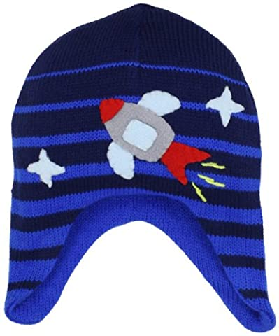 Kidorable Little Boys' Space Hero Hat, Blue, One Size