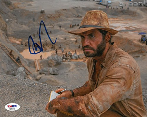 Edgar Ramirez Signed Bright Authentic Autographed 8x10 Photo #AD65929 - PSA/DNA Certified