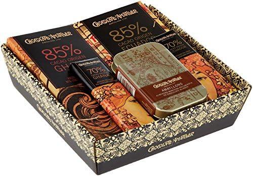 Chocolate Amatller - Chocolates variados en Cesta Regalo Orígenes 211g: Amazon.es: Alimentación y bebidas