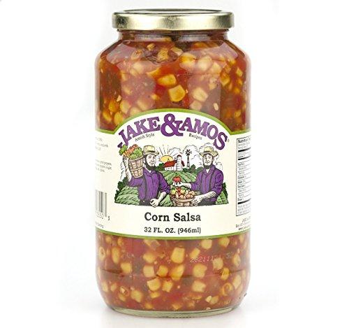 - Jake & Amos Corn Salsa, 32 Oz. Jar (Pack of 2)