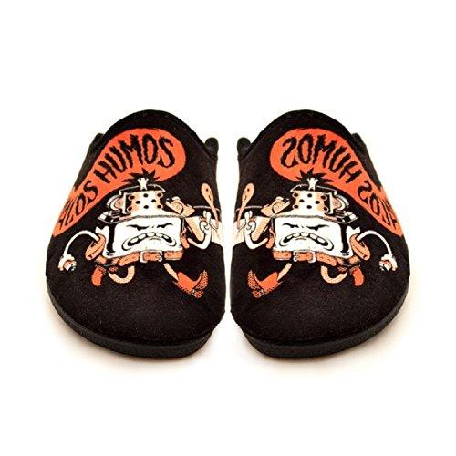 Zapatillas Casa Malos Humos regalos originales - 46: Amazon.es: Zapatos y complementos