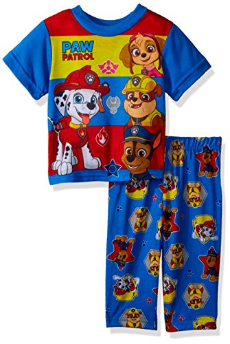 Nickelodeon Baby Boys Paw Patrol 2-Piece Pajama Set, Squad Blue, 18M - Kid 2 Piece Pjs