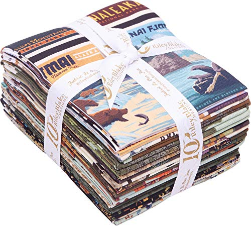 Anderson Design Group National Parks 16 Fat Quarters Riley Blake Designs FQ-8780-16 ()
