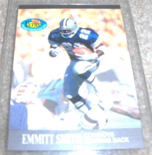 1991 Fleer Ultra Emmitt Smith NFL Football Ultra Performance Card
