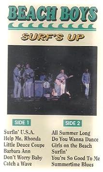 Surf S Up The Beach Boys Audio Cassette Amazon Com Music