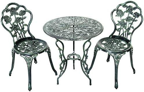 LEGENDARY-YES 3 Pcs Patio Furniture Cast