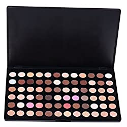 Pure Vie Professional 72 Colors EyeShadow Palette Makeup Contouring Kit - Ideal for Professional as well as Personal Use