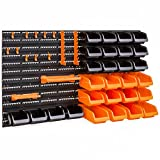 Best Choice Products 38x21.25in 44-Piece Wall