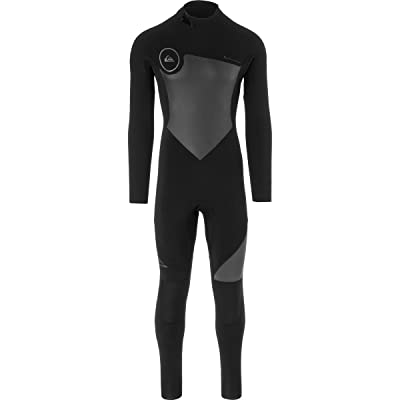 クイックシルバー スイムウェア スイムウェア 3/2 Syncro Back Zip GBS Wetsuit - Men's Black/Blac [並行輸入品]
