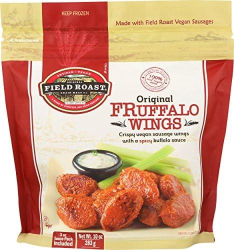Field Roast, Vegan Fruffalo, Buffalo Style Wings, 10 oz (Frozen)