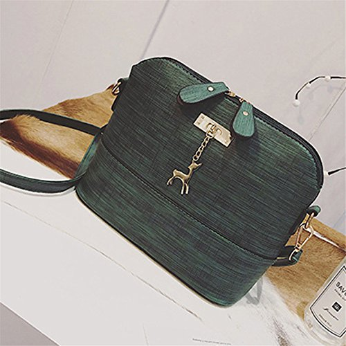 Handbag Small Women Messenger Packet Mini Casual Bag Green Crossbody Leather Yuan Ladies Shoulder Ozgpw