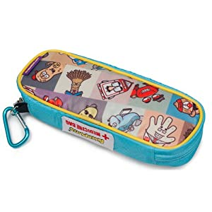 AllerMates Children's Medical Allergy Kids Carrying Case for EpiPen or Auvi-Q, and Benadryl