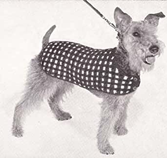 His Majesty Knitted Dog Blanket Coat Sweater Knitting ...