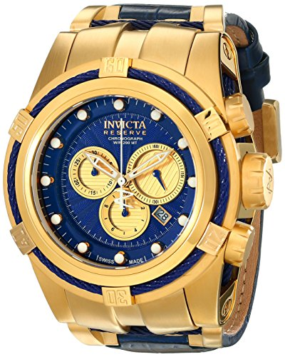 Invicta Men's 14614 Bolt Analog Display Swiss Quartz Blue Watch