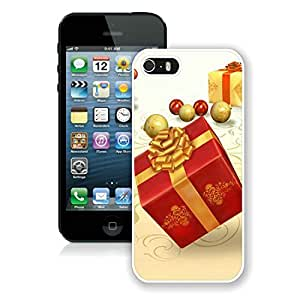 Recommend Design Iphone 5S Protective Case Merry Christmas iPhone 5 5S TPU Case 62 White