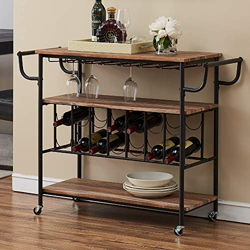 wine rack buffet table - 9