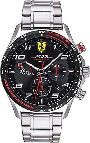 Scuderia Ferrari Pilota Evo Analog Black Dial Men's Watch 0830720