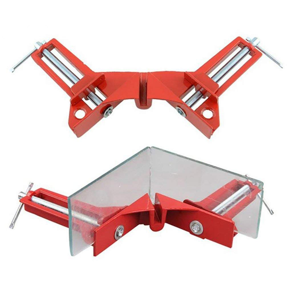 Fliyeong Premium Quality 90/°Right Angle Clip Fishtank Picture Frame Corner Clamp Woodworking Tool Garden Home Kitchen