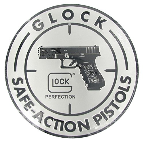 Glock Perfection OEM Safe Action Aluminum Sign by Glock