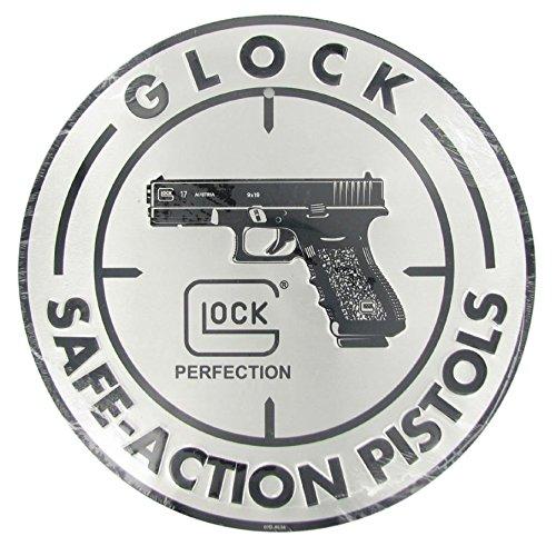 (Glock Perfection OEM Safe Action Aluminum Sign)