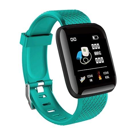 Chidjon Fitness Tracker,116 Plus Smartwatch estanco IP67 ...