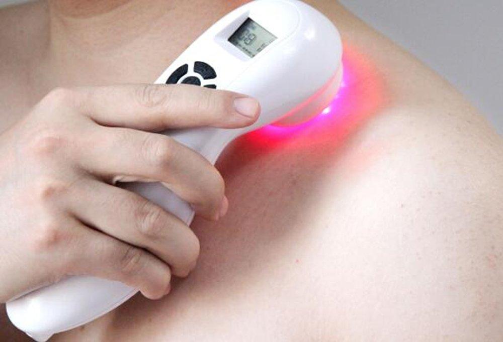 痛みを軽減するためのハンディレーザー治療装置Medicomat-30 B077BK5BTL