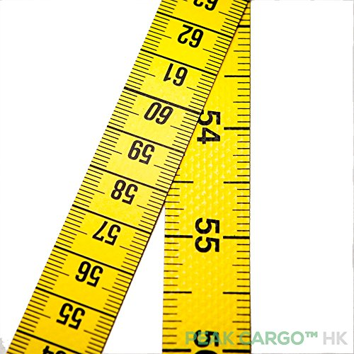 Sturdy Quality Professional Dual-Sided Yellow Polyfibre Tape Measure Soft Flexible Sewing 200cm/80