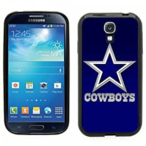 Samsung Galaxy S4 SIIII Black Rubber Silicone Case - Dallas Cowboys Footbal NFL