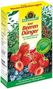 Neudorff - Fertilizante orgánico Fresas y arándanos, 1Kg: Amazon ...